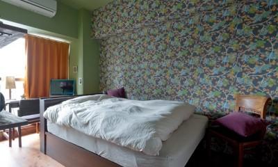 ベッドルーム|世界を旅する家