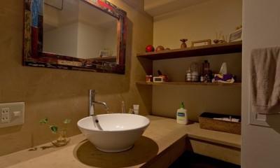 洗面室|世界を旅する家