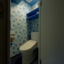 世界を旅する家の写真 トイレ