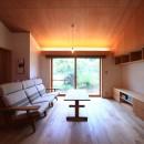 雑木林の小さな家の写真 リビング