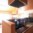雑木林の小さな家の写真 キッチン