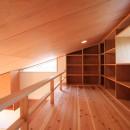 雑木林の小さな家の写真 ロフト