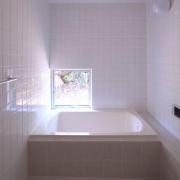 雑木林の小さな家 (浴室)