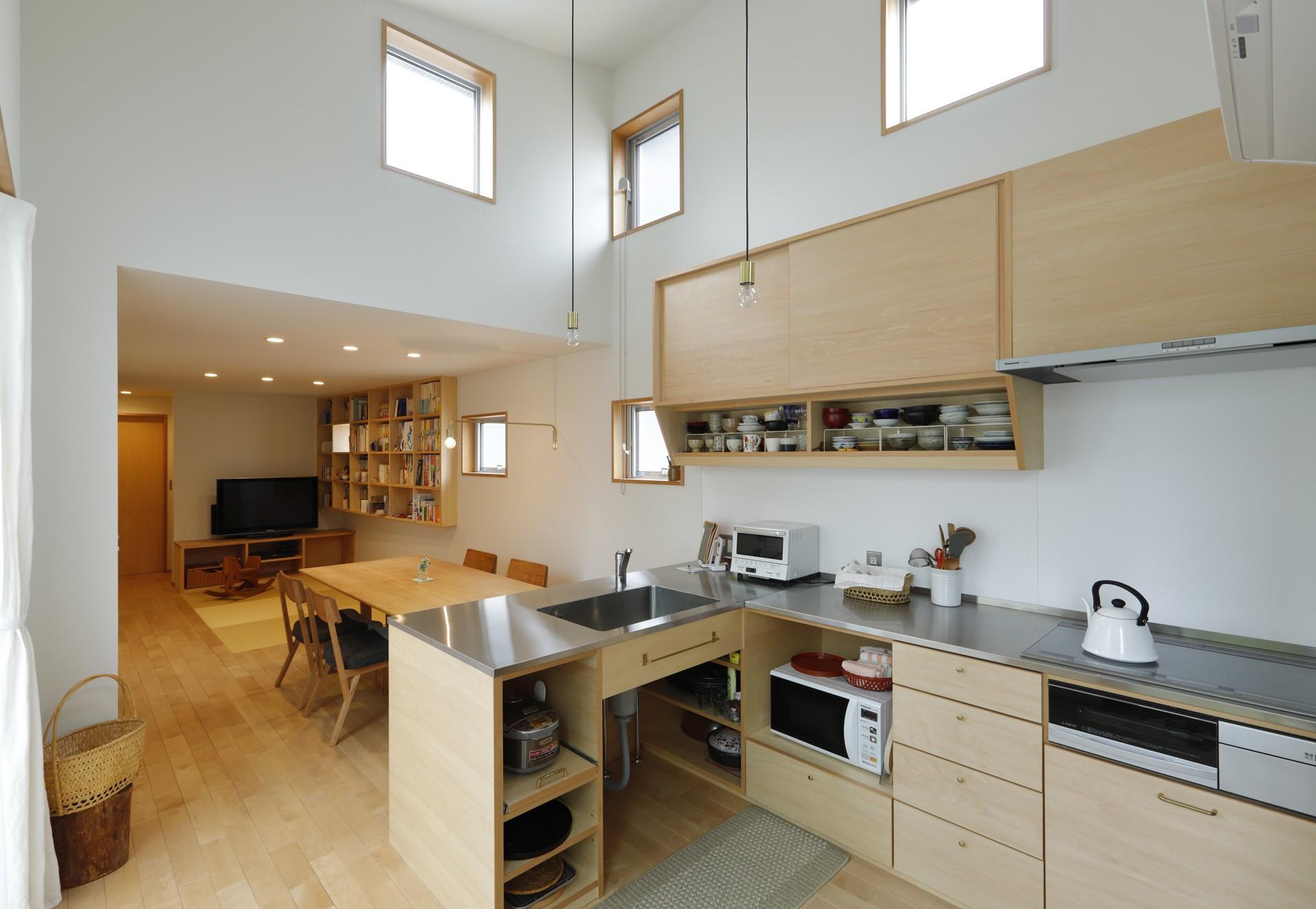 キッチン事例:キッチン(ゆるやかに暮らす家)