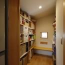 ゆるやかに暮らす家の写真 納戸