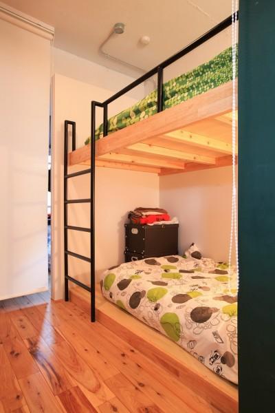 子供用ベッド (AME TO MUCHI~「あそび」と「まなび」が隣り合う、子供との毎日が楽しい住まい。~)
