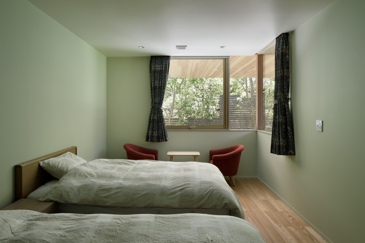 ベッドルーム事例:寝室(058軽井沢Hさんの家)