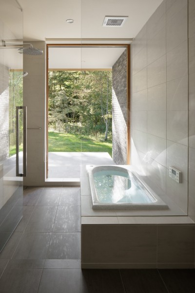 浴室 (058軽井沢Hさんの家)
