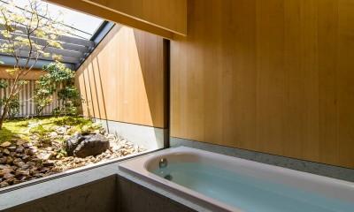 奈良の住宅 (浴室)