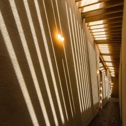 奈良の住宅 (廊下)