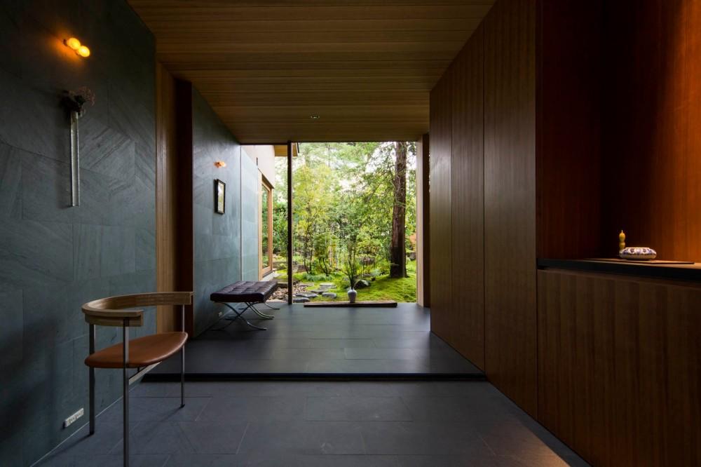 玄関土間 (奈良の住宅)