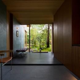 奈良の住宅 (玄関土間)