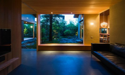 奈良の住宅 (リビング)