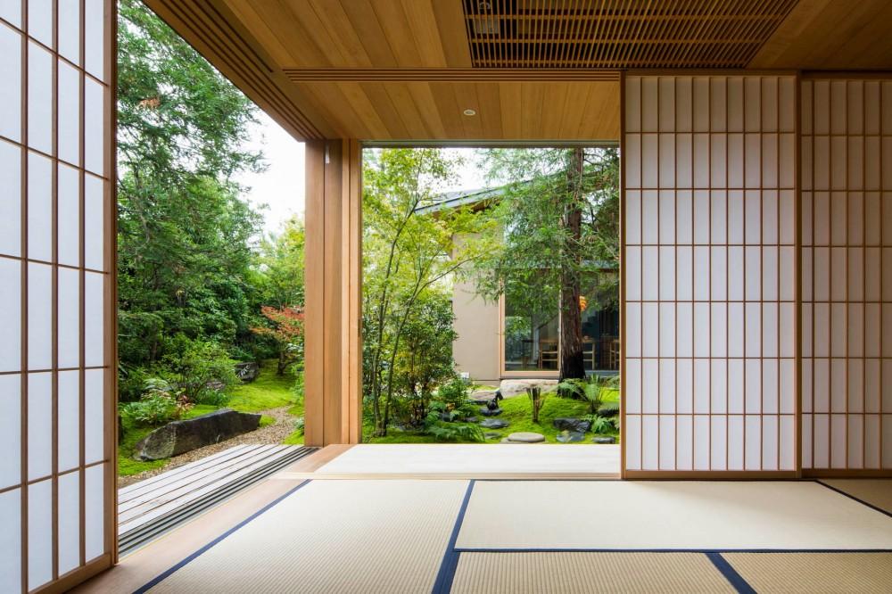 奈良の住宅 (和室)