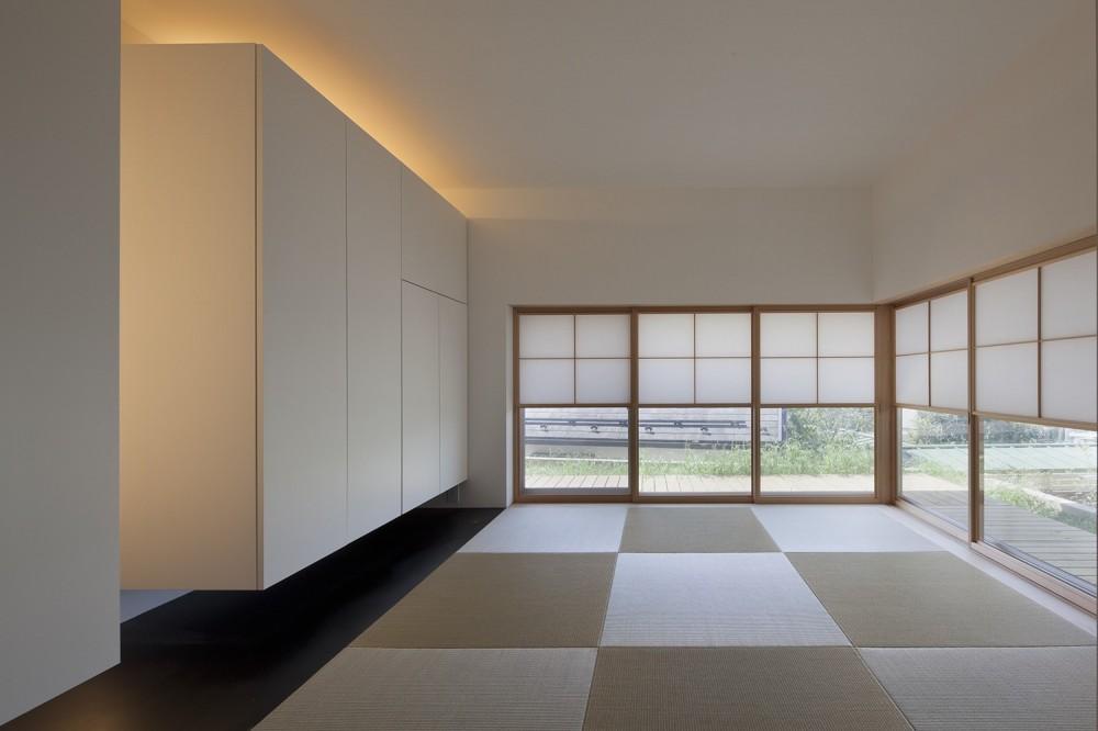 岡本の住宅 (寝室)