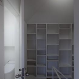 岡本の住宅 (階段)