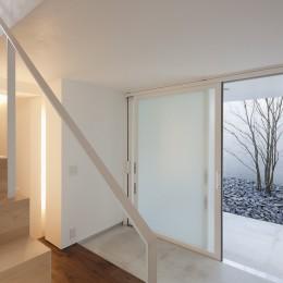 奥沢の住宅 (玄関)