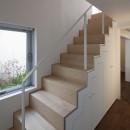 奥沢の住宅の写真 階段