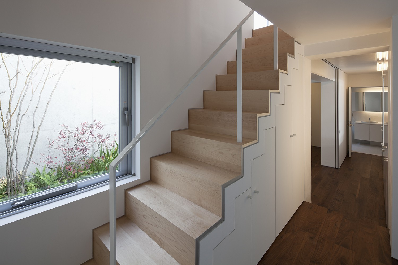 その他事例:階段(奥沢の住宅)