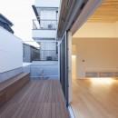奥沢の住宅の写真 テラス