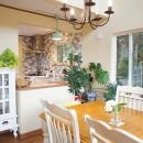 四季を感じ暮らしを楽しむ家の写真 ダイニングキッチン