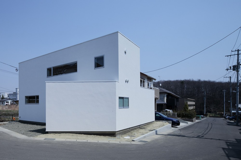 外観 (仙台の住宅)