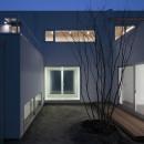 仙台の住宅の写真 中庭