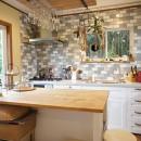 四季を感じ暮らしを楽しむ家の写真 使いやすいキッチン