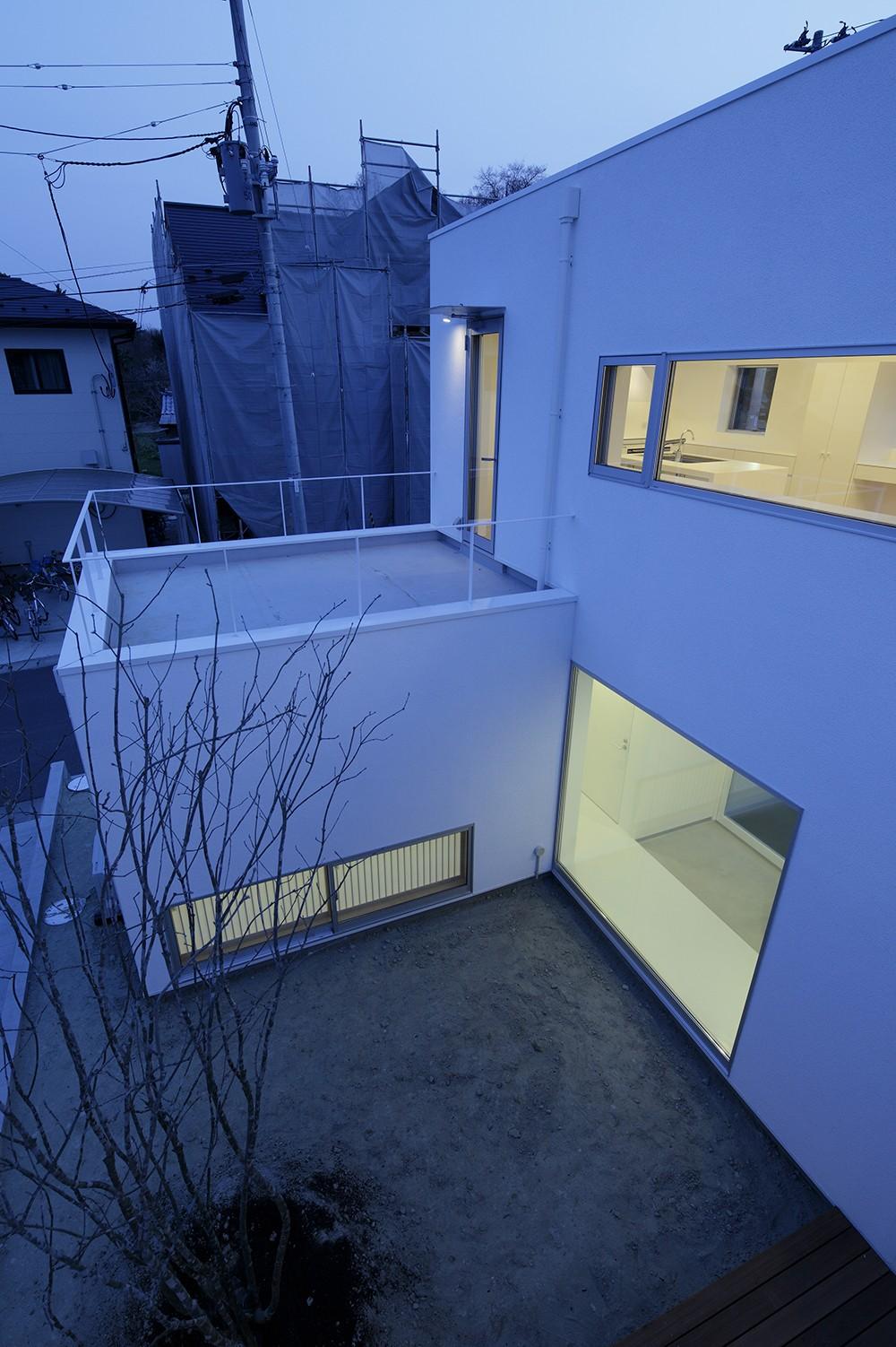 仙台の住宅 (中庭)