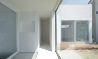 仙台の住宅 (玄関)
