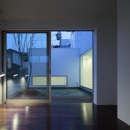 仙台の住宅 (寝室)