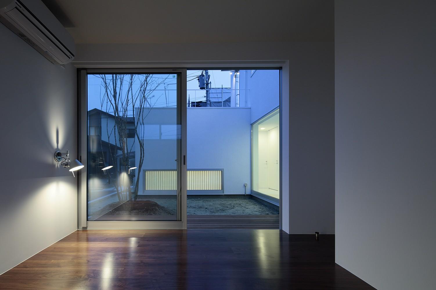 ベッドルーム事例:寝室(仙台の住宅)