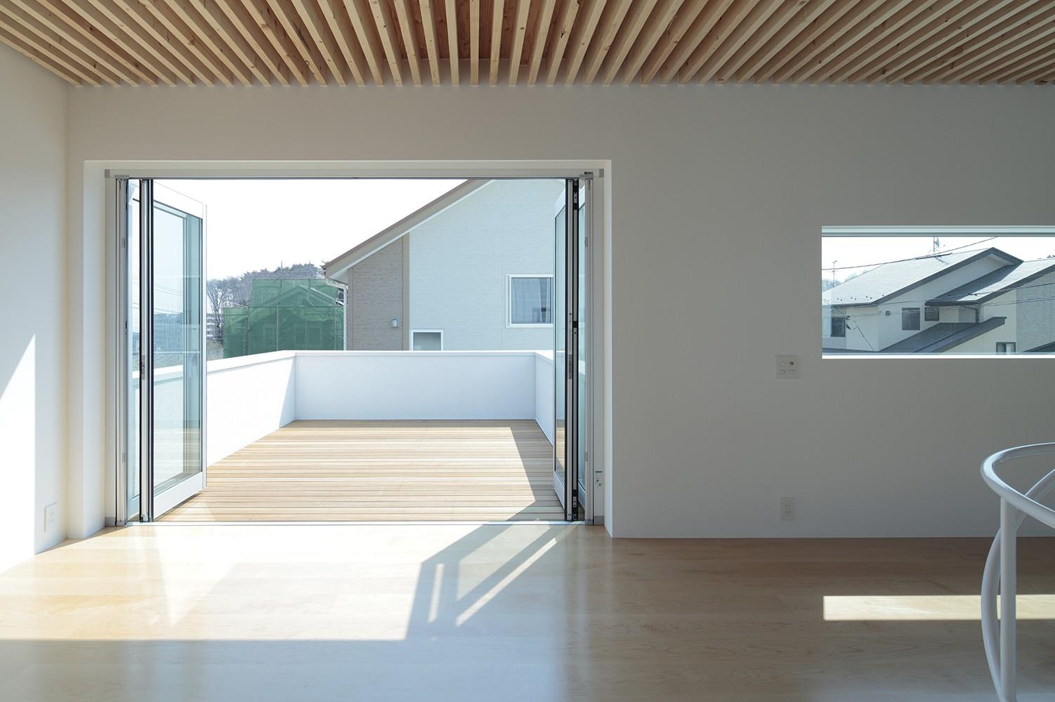 リビングダイニング事例:LDKスペース(仙台の住宅)