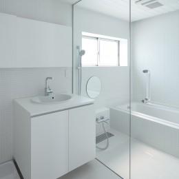 仙台の住宅 (洗面脱衣室,浴室)
