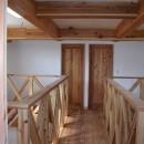 大阪府東大阪市O様 新築施工事例の写真 ドア材にも天然杉を使用