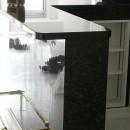 大阪市中央区マンション 内装リフォーム事例の写真 カウンターも大理石