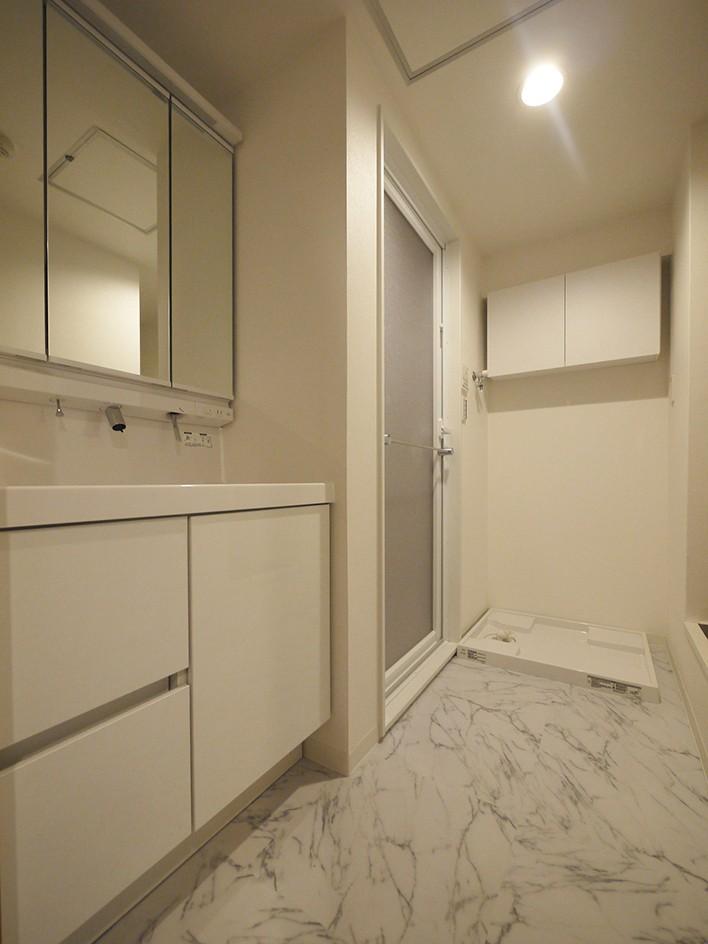 バス/トイレ事例:洗面室(既存の間取りで心地よい住まいに)