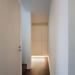 南烏山の住宅 (1階廊下)