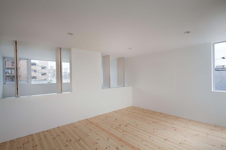子供部屋事例:3階個室(南烏山の住宅)