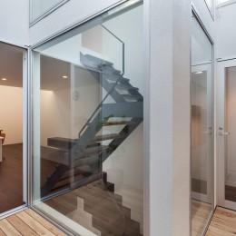 南烏山の住宅 (2階テラス)