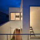 南烏山の住宅の写真 外観(夜景)