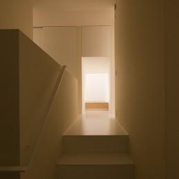 川口の住宅 (階段)