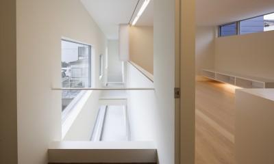 川口の住宅 (2階インナーテラス)