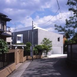 市川の住宅 (外観)
