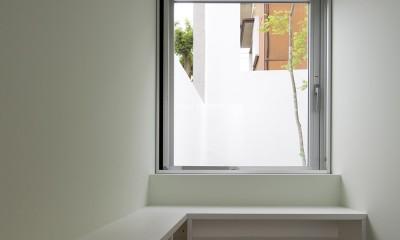 市川の住宅 (1階書斎)