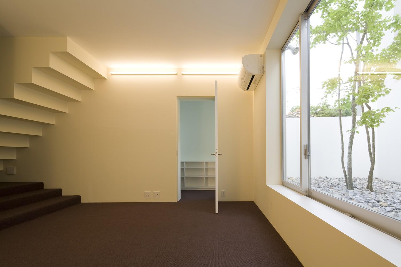 ベッドルーム事例:1階寝室(市川の住宅)