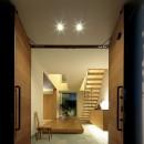 分節と連続の家の写真 玄関