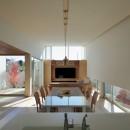 分節と連続の家の写真 LDK・和室