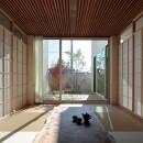 分節と連続の家の写真 和室