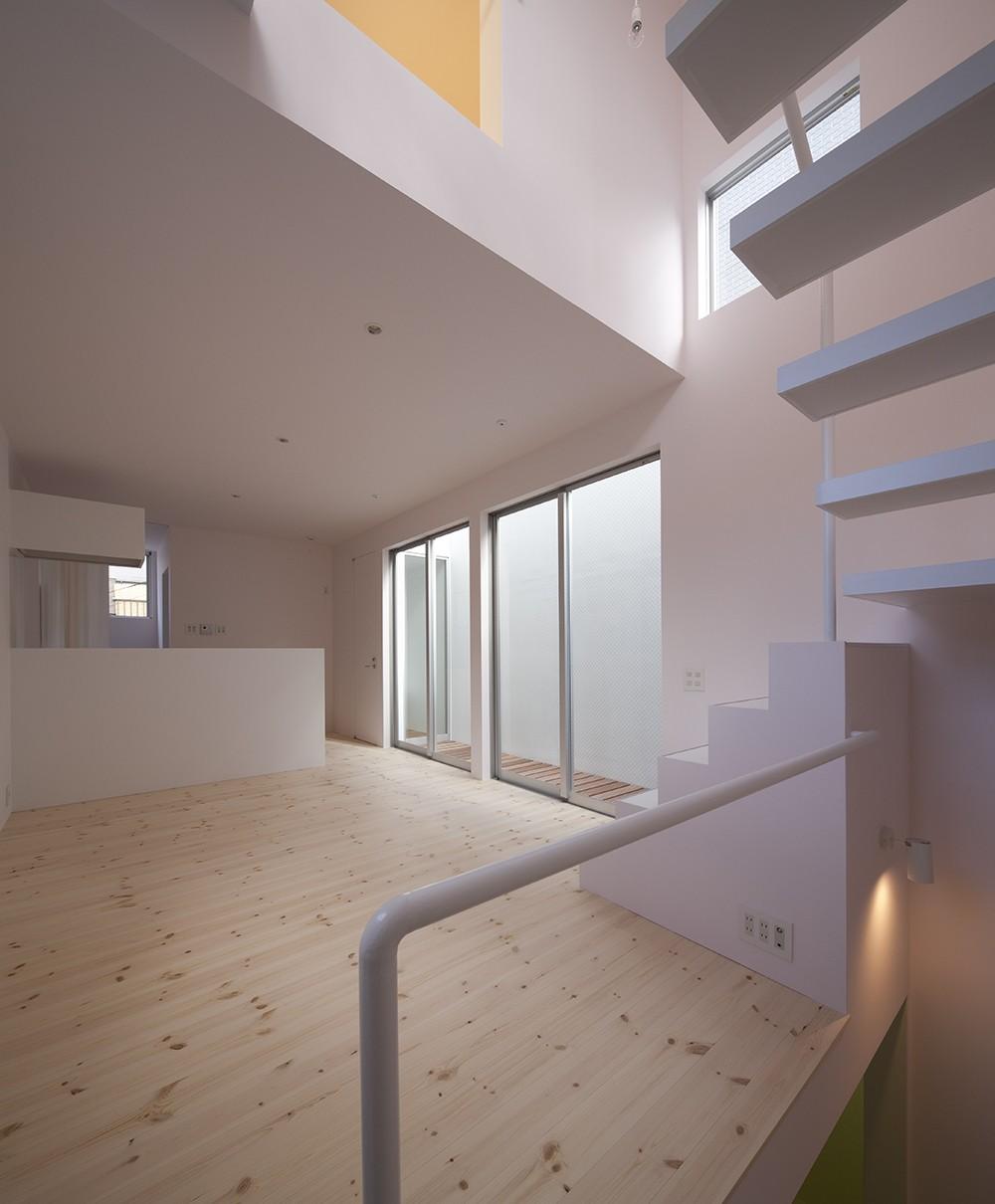 南加瀬の住宅 (LDKスペース)